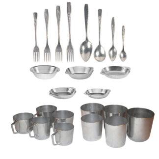 Столовая посуда из алюминия