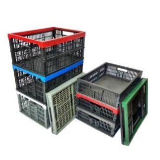 Ящики пластмассовые (складные)